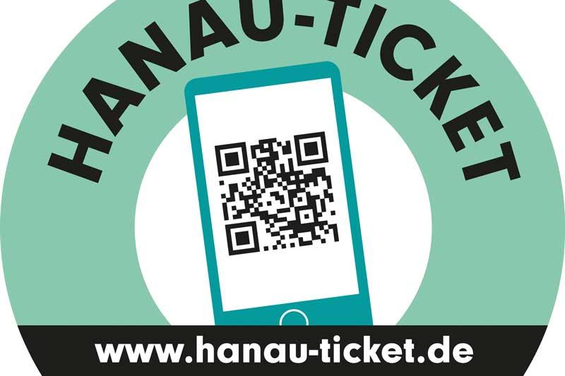 Das Logo zum Hanau-Ticket. (Foto: Stadt Hanau)
