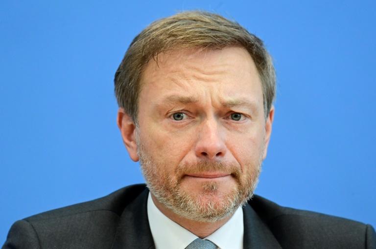 Lindner empfiehlt FDP als Garantin der Bürgerrechte in der Pandemie (© 2021 AFP)