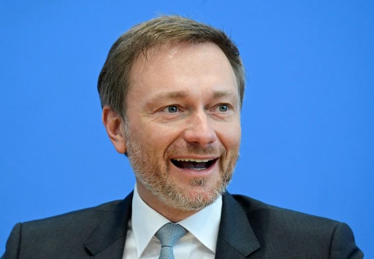 Christian Lindner mit 93 Prozent als FDP-Chef wiedergewählt (© 2021 AFP)