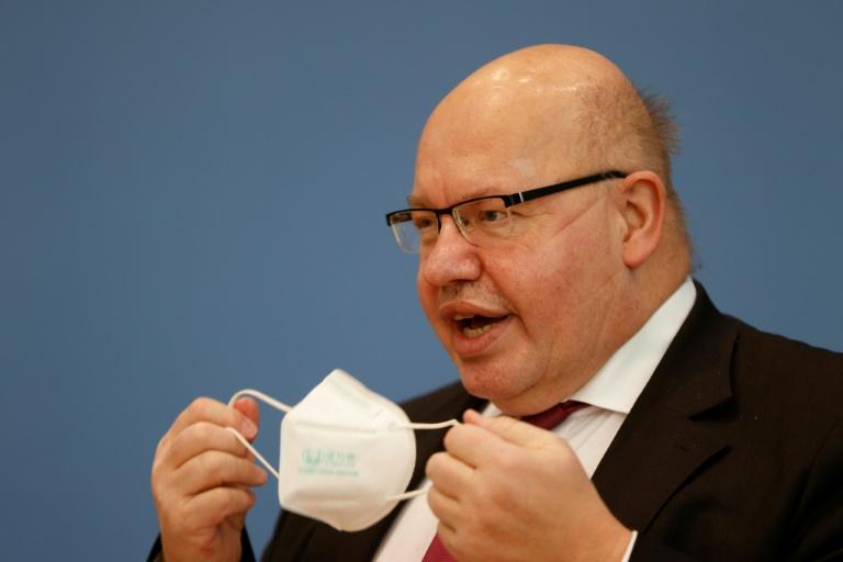 Altmaier warnt mit Blick auf beginnende Wirtschaftserholung vor Steuererhöhungen (© 2021 AFP)