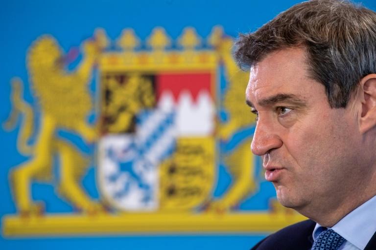 Bericht: CSU will mit Söder-Plakaten Bundestagswahlkampf machen (© 2021 AFP)