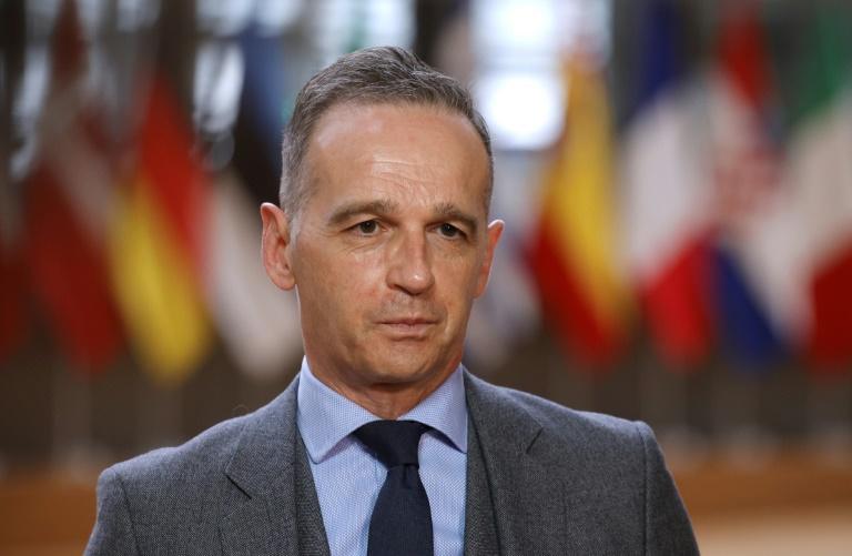 Maas sichert Einsatz der Bundesregierung für LGBT-Rechte zu (© 2021 AFP)