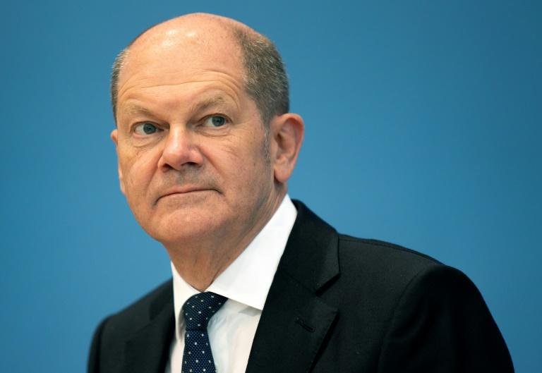 Scholz fordert entschiedenes Vorgehen gegen antisemitische Taten (© 2021 AFP)