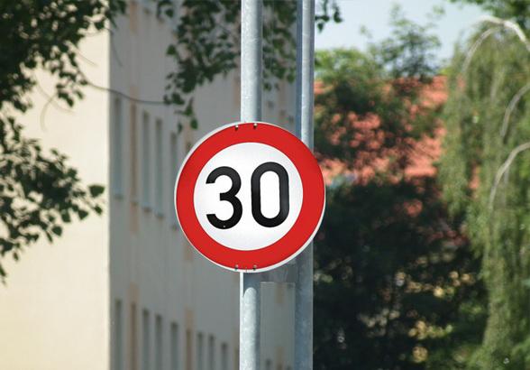 Düsseldorf: Tempo 30 auf der Universitätsstraße (Foto: xity)