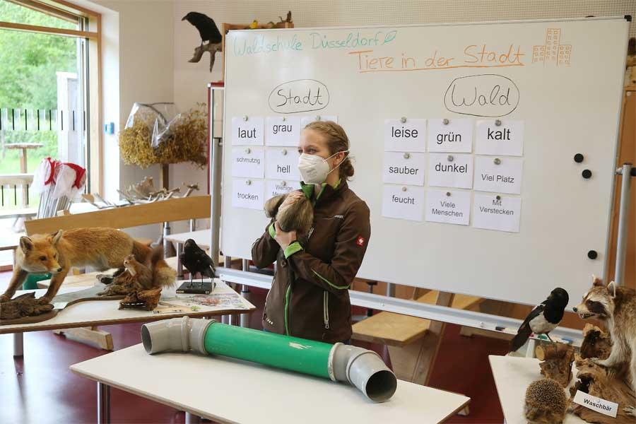 Die Waldschule bietet Online-Unterricht für Grundschulklassen an (Foto: Sta)