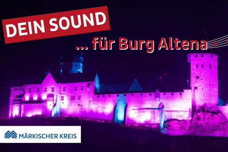 """""""Dein Sound für Burg Altena"""". (Foto: Märkischer Kreis)"""