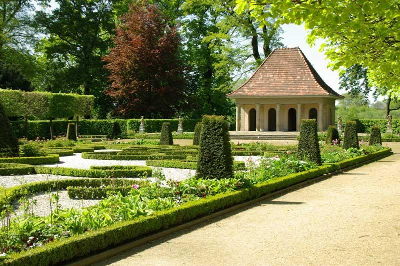 Schloss Wolfsburg, Barockgarten. (Foto: Stadt Wolfsburg)