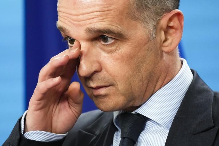 Maas kritisiert ungarische Blockade von EU-Erklärung zu Nahost (© 2021 AFP)