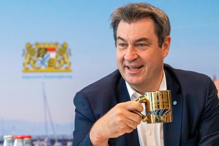 Söder macht Laschet für Schicksal der Union bei Bundestagswahl verantwortlich (© 2021 AFP)