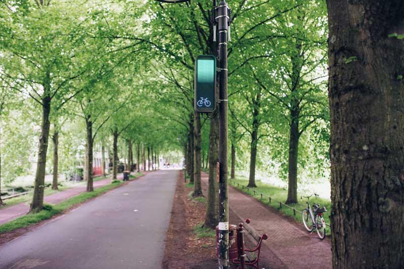 Grüne-Welle-Assistent für Radfahrende. (Foto: Stadt Münster)