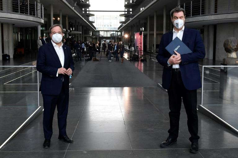 Bericht: Laschet und Söder präsentieren Wahlprogramm am 21. Juni (© 2021 AFP)