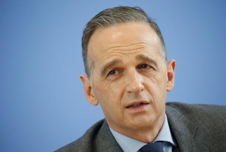 """Maas will mit Israel-Reise """"Zeichen der Solidarität"""" setzen (© 2021 AFP)"""