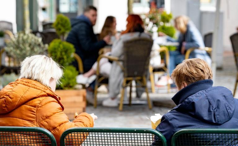 Städtetag mahnt Bürger zu Vorsicht über Pfingsten (© 2021 AFP)