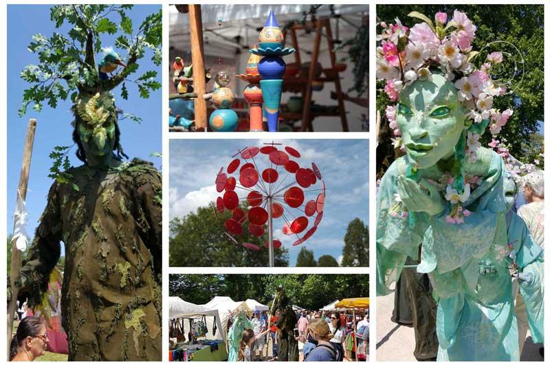 Der Kunstmarkt Herten ist jedes Jahr zu Pfingsten ein Highlight für die ganze Familie. (Foto: Stadt Herten)
