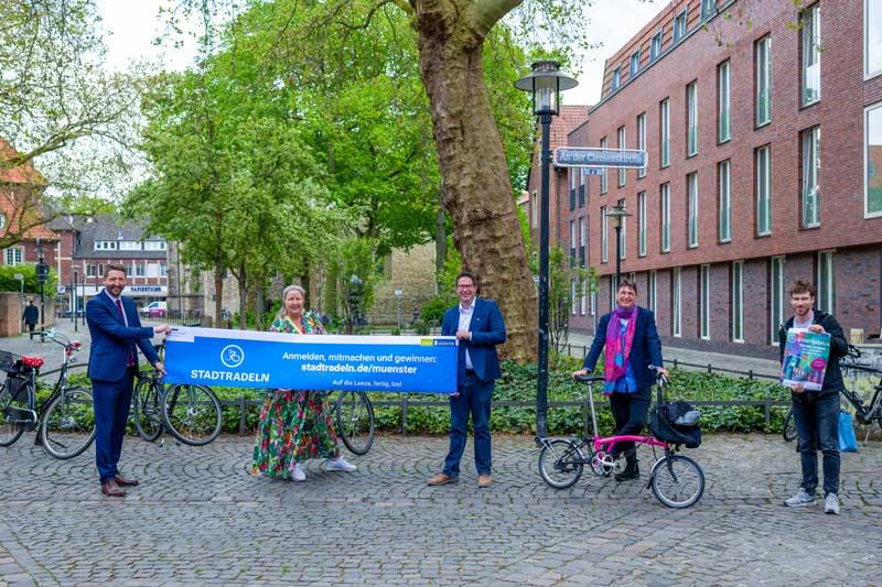 """Stadtradeln"" beginnt am 5. Juni 2021. (Foto: Stadt Münster)"