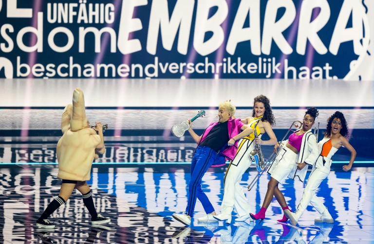 Eurovision Song Contest geht mit 26 Startern ins Finale (© 2021 AFP)
