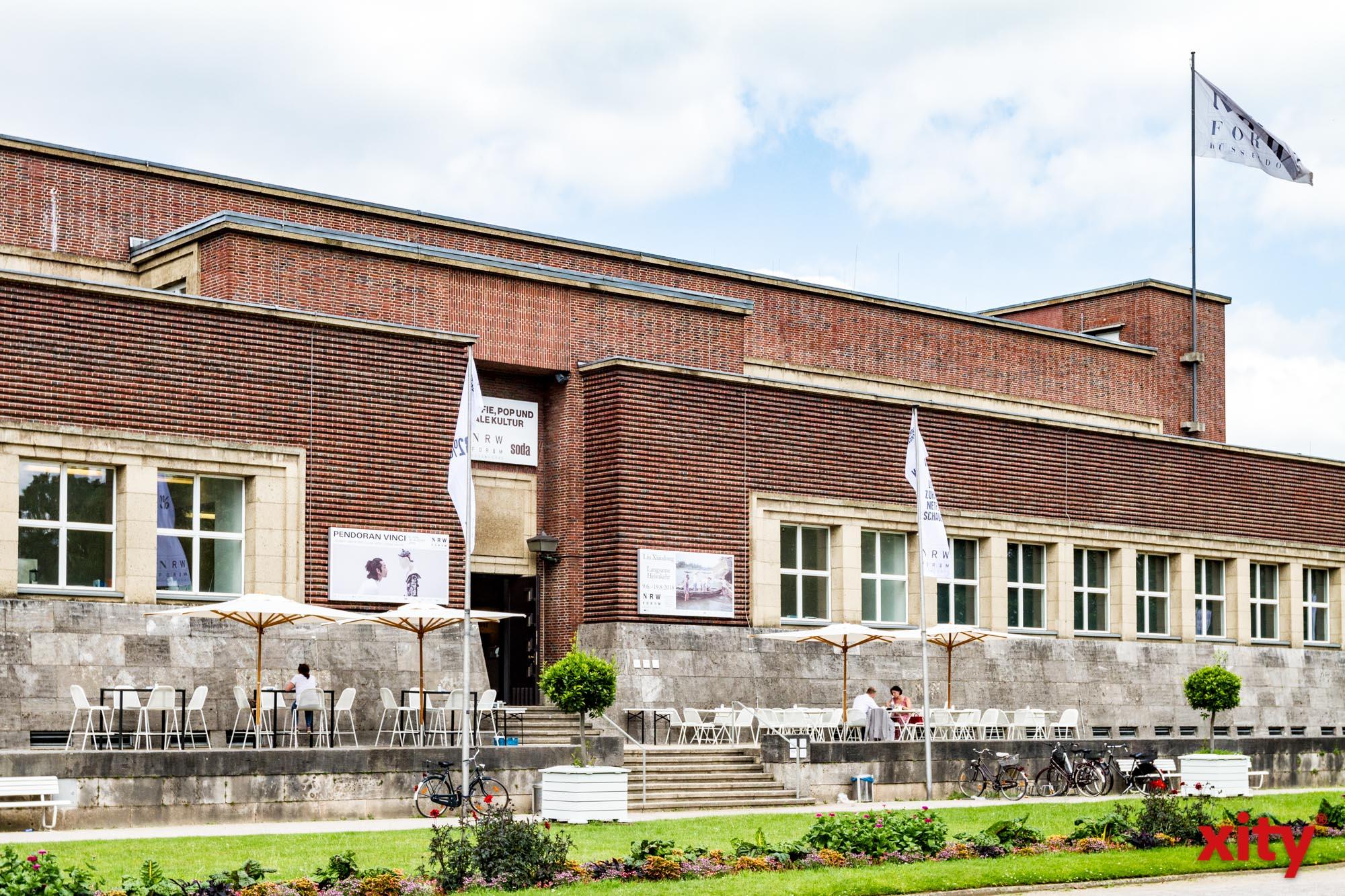 """Ausstellung """"Freibad"""" im NRW-Forum Düsseldorf (Foto: xity)"""