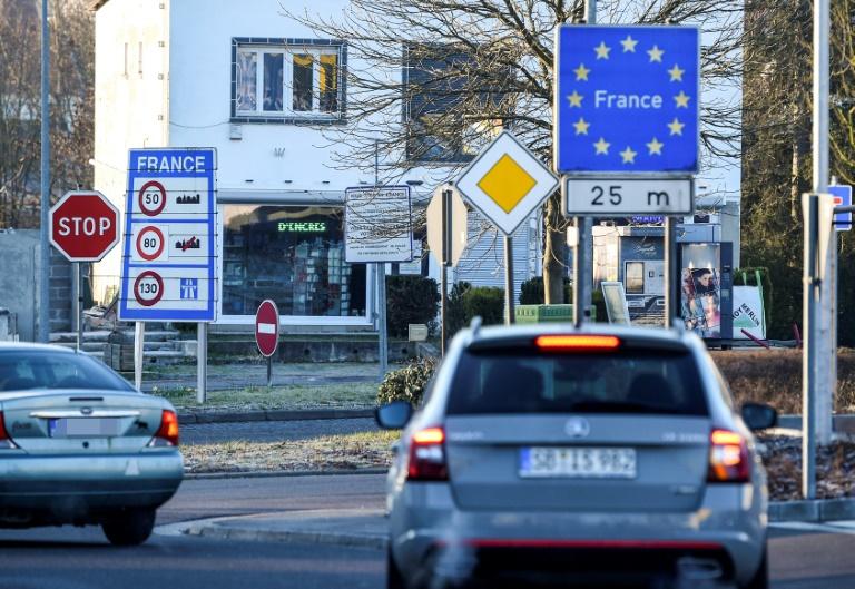 Paris: Keine Corona-Tests mehr für Grenzgänger von Frankreich nach Deutschland (© 2021 AFP)