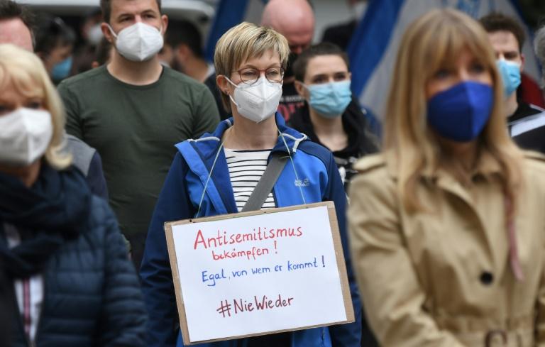 Forderungen nach härterem Vorgehen gegen Antisemitismus (© 2021 AFP)