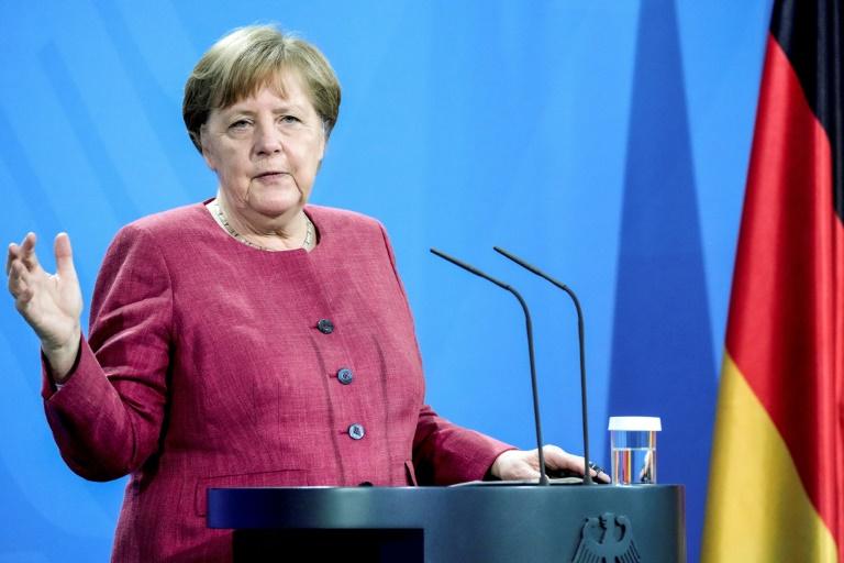 Merkel: Diese Pandemie wird nicht die letzte sein (© 2021 AFP)