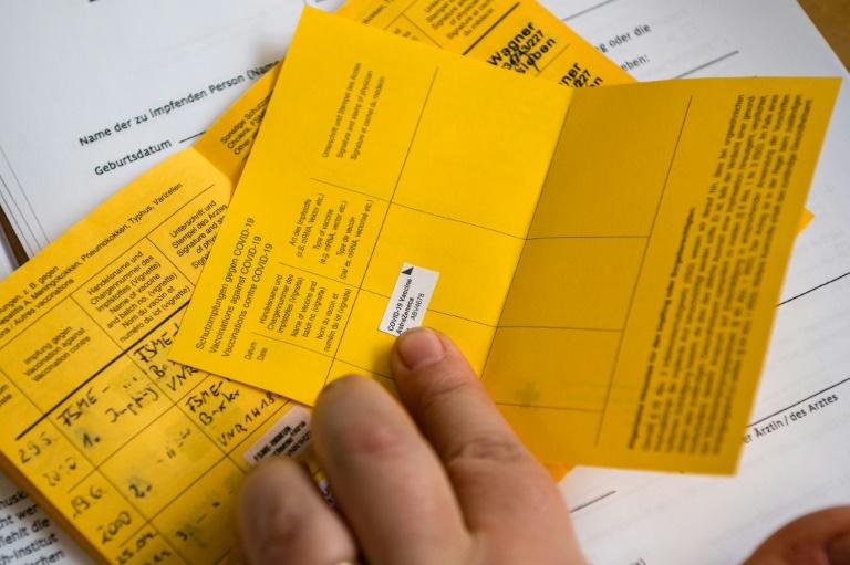 """Domscheit-Berg nennt digitalen Impfpass """"sinnloses Unterfangen"""" (© 2021 AFP)"""