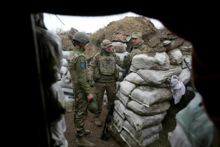 Habeck hält trotz Kritik an Vorstoß zu Waffenlieferungen an Ukraine fest (© 2021 AFP)