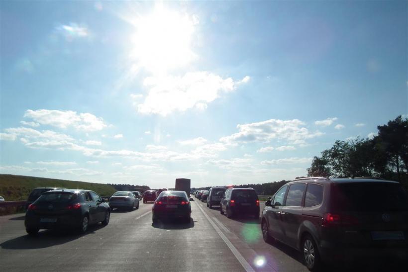 Lebhafter Reiseverkehr auf Deutschlands Autobahnen (Foto: xity)