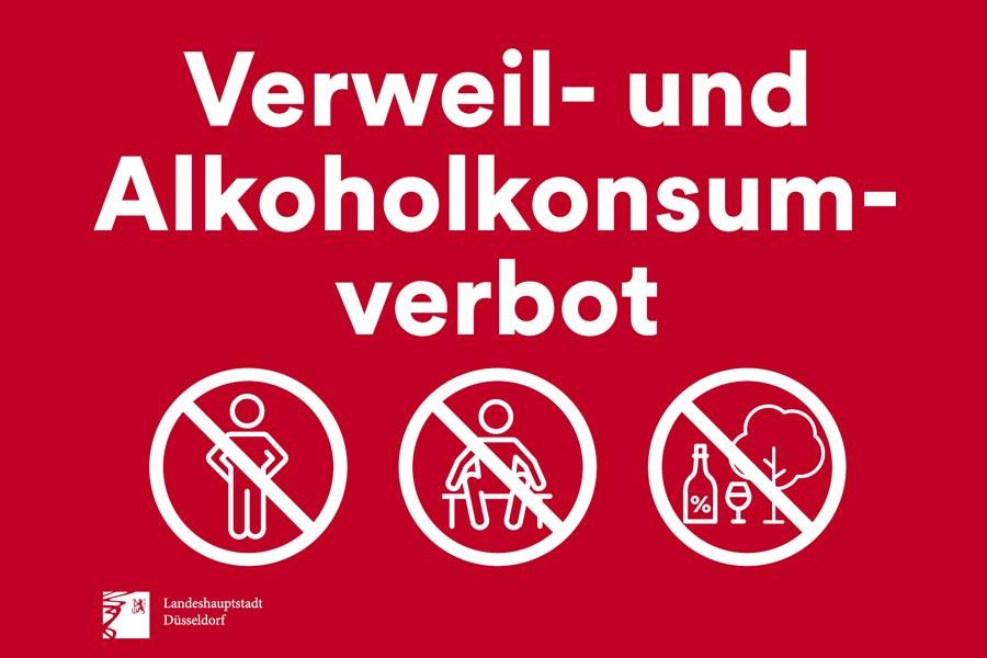 Altstadt/Rheinufer: Verweil- und Alkoholkonsumverbot im öffentlichen Raum (Foto: Stadt Düsseldorf, Amt für Kommunikation)