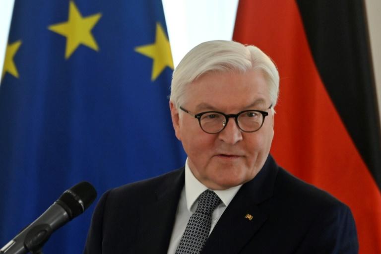 Steinmeier strebt zweite Amtszeit an (© 2021 AFP)