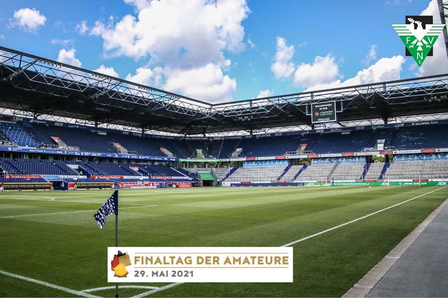 Das Finale zwischen dem Wuppertaler SV und dem SV Straelen geht in der Schauinsland-Reisen-Arena über die Bühne (Foto: Nico Herbertz/FVN)