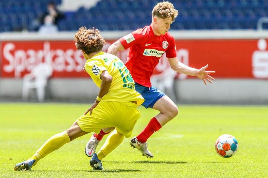 Der Wuppertaler SV triumphiert im Endspiel um den Niederrheinpokal 2021 gegen den SV Straelen (Foto: FVN/Herbertz)