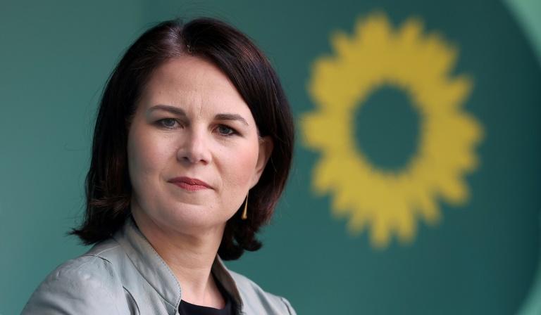 Baerbock ruft CDU zu klarer Abgrenzung nach Rechts auf (© 2021 AFP)
