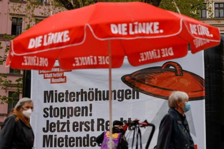 Bericht: Die Linke will mit Wissler und Bartsch in den Bundestagswahlkampf gehen (© 2021 AFP)