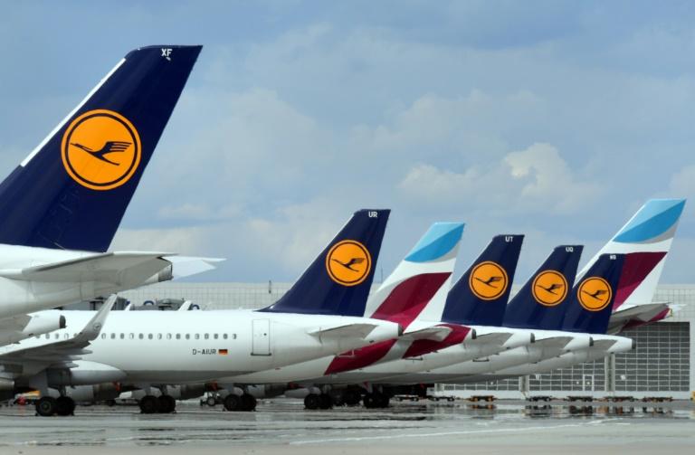 Lufthansa und Eurowings fliegen im Sommer mehr als hundert Ziele an (© 2021 AFP)