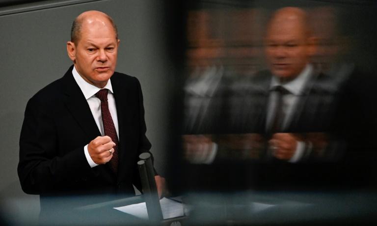 Olaf Scholz Spitzenkandidat der Brandenburger SPD zur Bundestagswahl (© 2021 AFP)