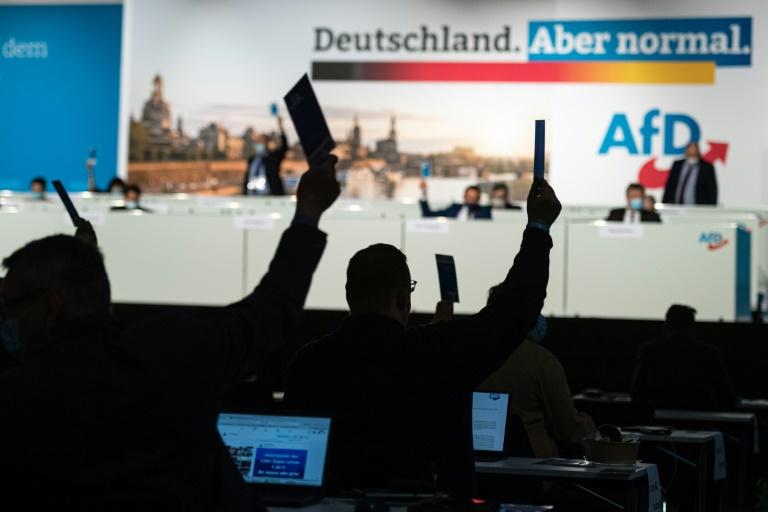 """Bericht: Berliner Verfassungsschutz stuft Landes-AfD als """"Verdachtsfall"""" ein (© 2021 AFP)"""