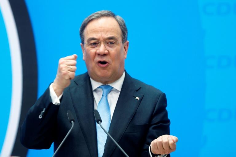 CDU-Spitze will bis 2030 Emissionssenkung um 65 Prozent (© 2021 AFP)