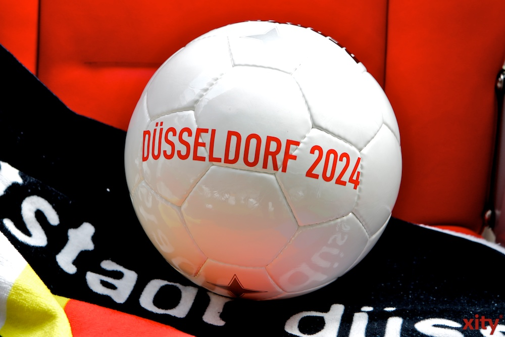 Aktueller Planungsstand zur EURO 2024 in Düsseldorf (Foto: xity)