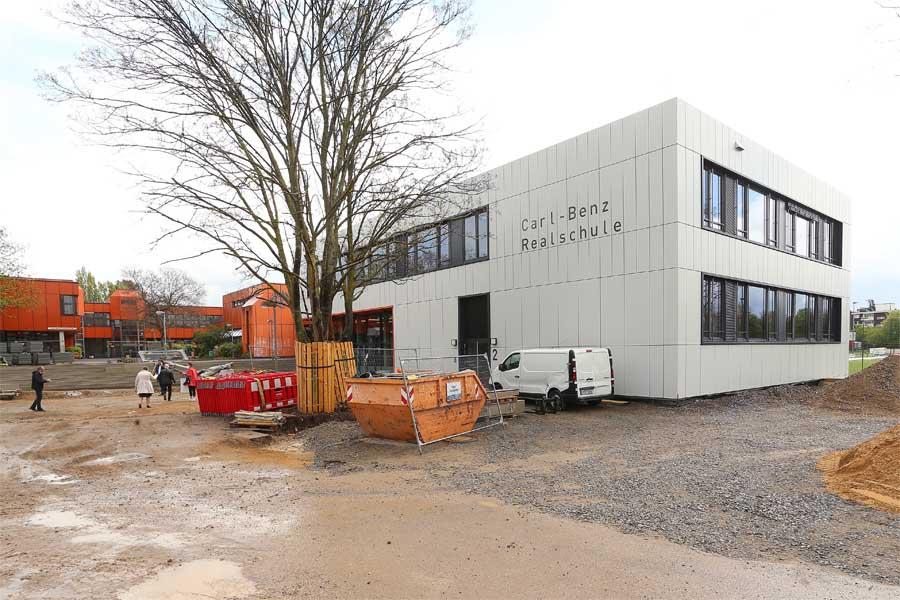 Erweiterungsneubau der Carl-Benz-Realschule eröffnet (Foto: Stadt Düsseldorf/David Young)
