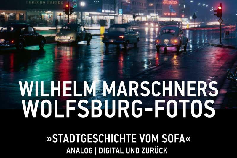 Großstädtisches Wolfsburg in den 1960ern, Titelbild des neuen Fotobuchs. (Foto: Stadt Wolfsburg)