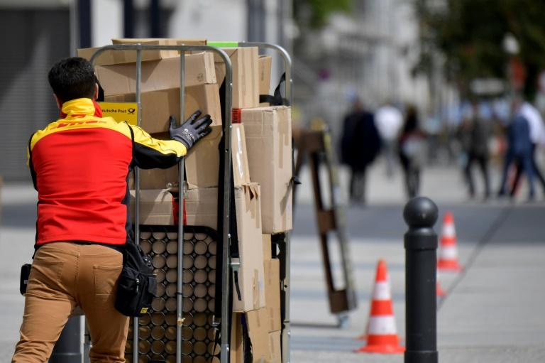 Deutsche Post verbucht Rekordergebnis im ersten Quartal (© 2021 AFP)