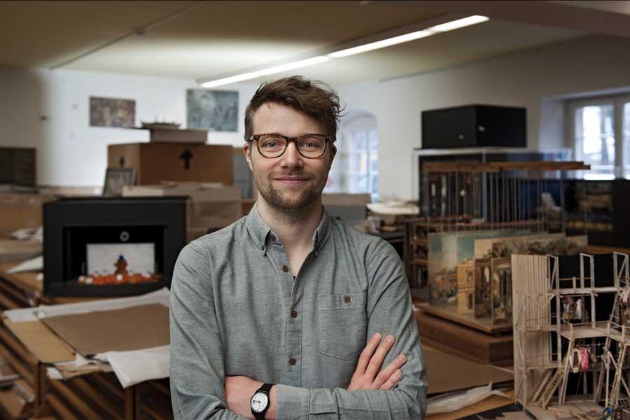 Sascha Förster wird neuer Leiter des Theatermuseums (Foto: Hermann und Clärchen Baus)