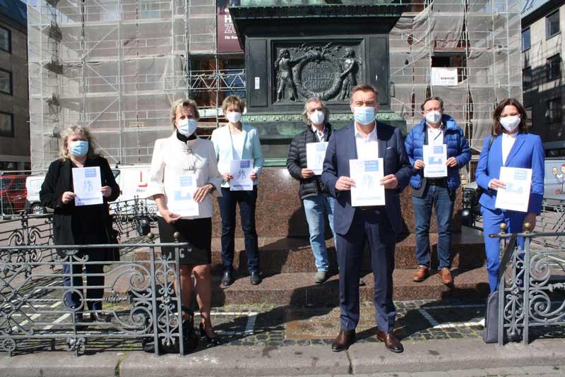 """""""Konflikte lösen ohne Gewalt"""". (Foto: Stadt Hanau)"""