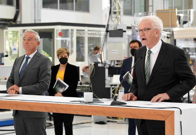 Neue grün-schwarze Koalition in Baden-Württemberg setzt Schwerpunkt auf Klima (© 2021 AFP)