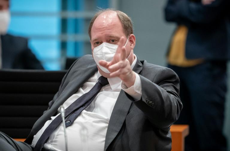 Kanzleramtsminister verteidigt Corona-Notbremse als erforderlich (© 2021 AFP)