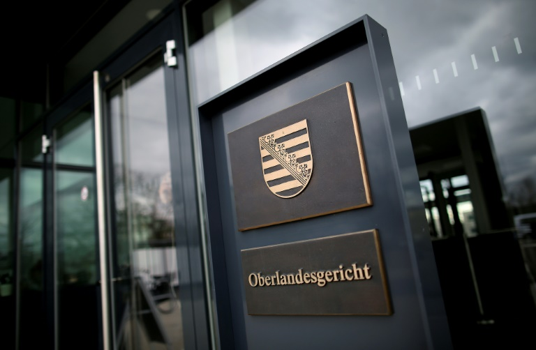 Beginn der Plädoyers im Prozess um Messerangriff auf zwei Touristen in Dresden (© 2021 AFP)