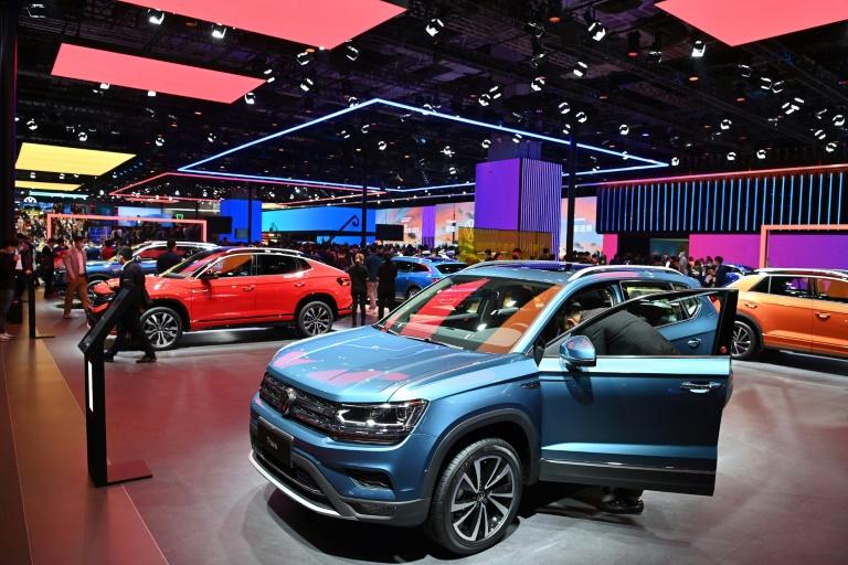 Volkswagen macht im ersten Quartal trotz Chipmangels 3,4 Milliarden Euro Gewinn (© 2021 AFP)