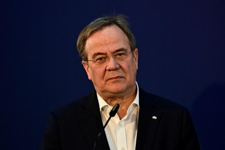 """Laschet: Werteunion ist für die CDU """"kein Thema"""" (© 2021 AFP)"""