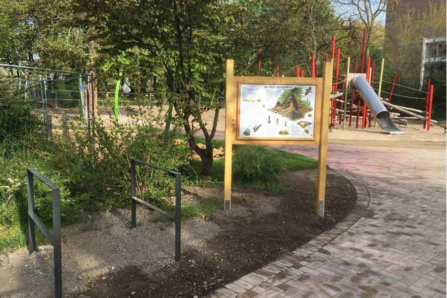 Die Gesamtkosten für die Umgestaltung des Spielplatzes belaufen sich auf 320.000 Euro (Foto: Stadt Düsseldorf/Gartenamt)