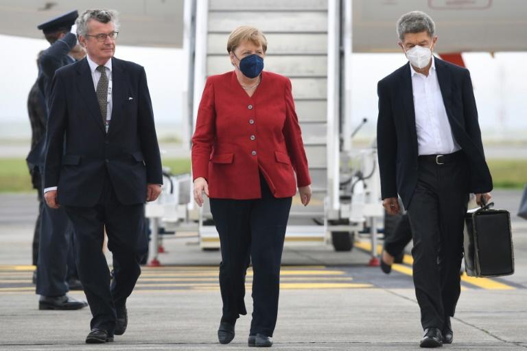 US-Präsident Biden empfängt Merkel am 15. Juli im Weißen Haus (© 2021 AFP)